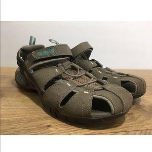 7b53fd18b Teva Shoes - Teva Womens Tan Forebay Sandals Size 8.5 -K8
